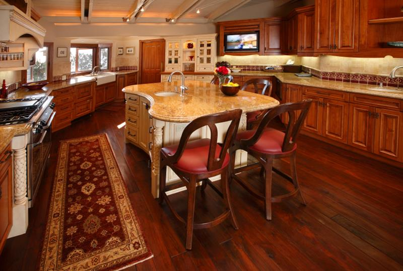 81 Absolutely Amazing Wood Kitchen Designs-76