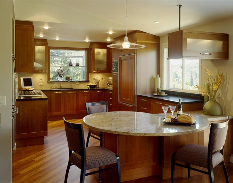 81 Absolutely Amazing Wood Kitchen Designs-79