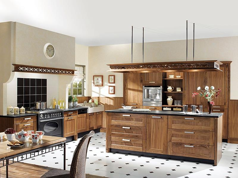 81 Absolutely Amazing Wood Kitchen Designs-9