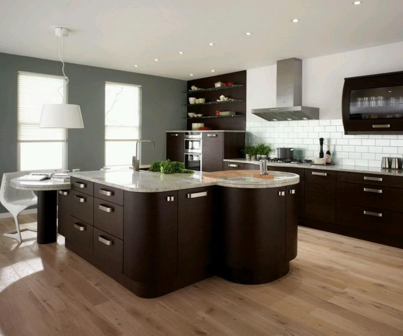 120 Custom Luxury Modern Kitchen Designs-10