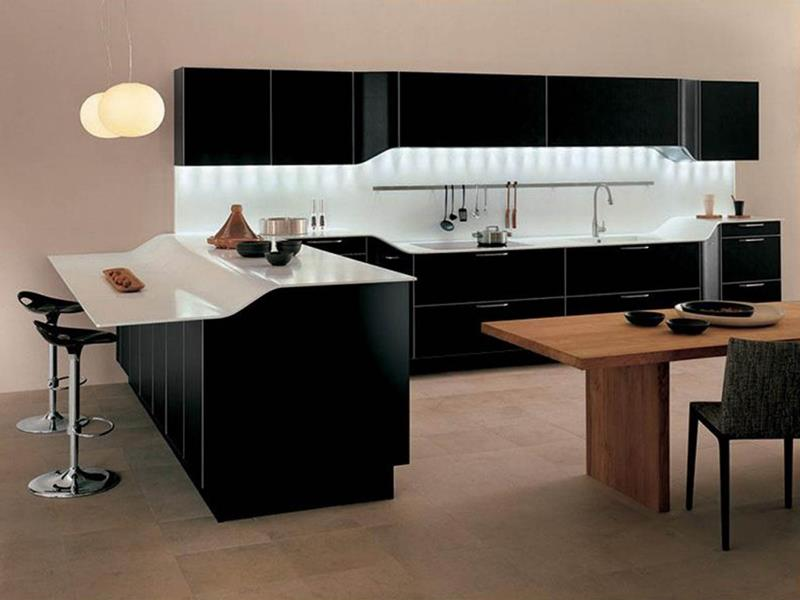 120 Custom Luxury Modern Kitchen Designs-104