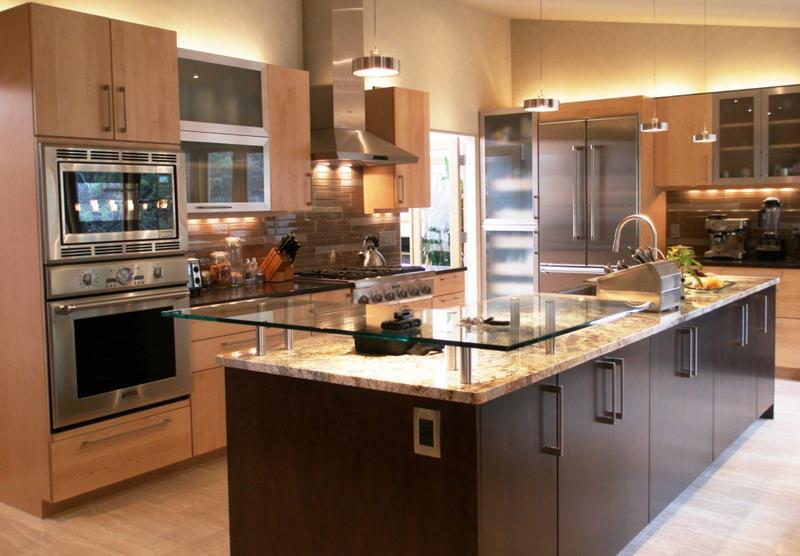 120 Custom Luxury Modern Kitchen Designs-106