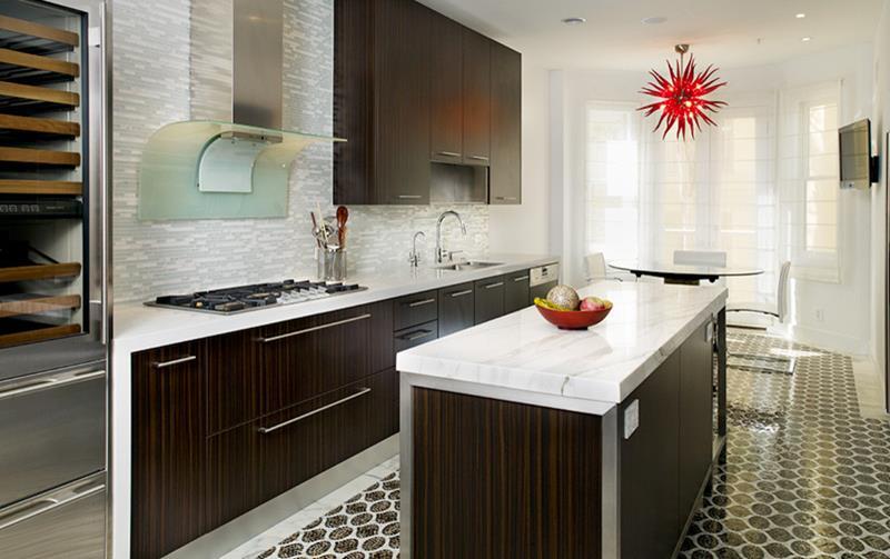 120 Custom Luxury Modern Kitchen Designs-112