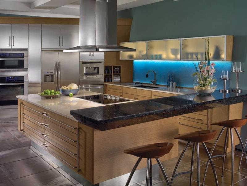 120 Custom Luxury Modern Kitchen Designs-120