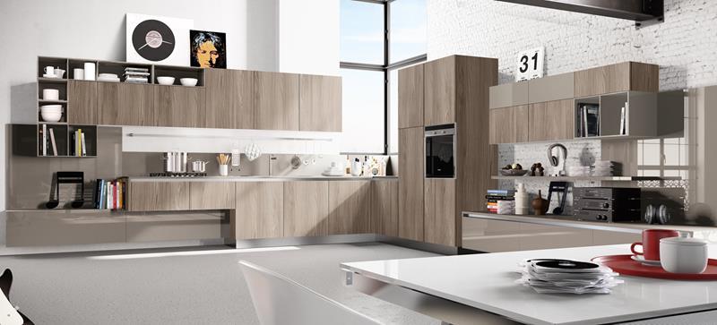 120 Custom Luxury Modern Kitchen Designs-20