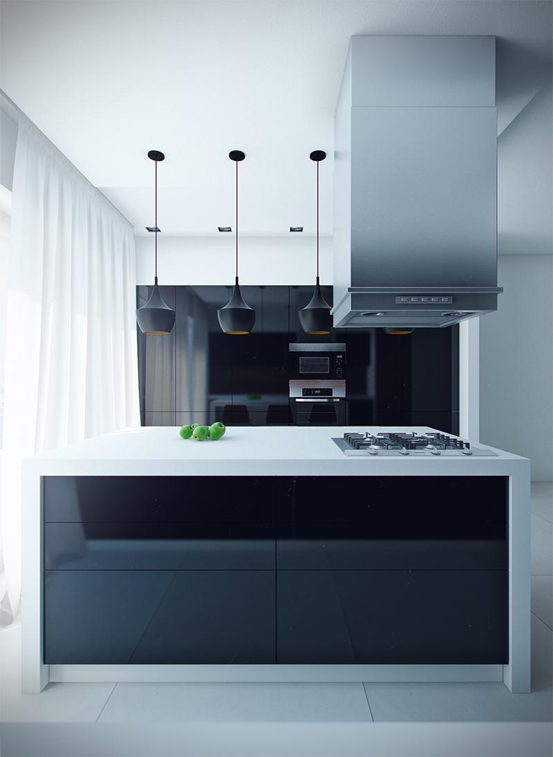 120 Custom Luxury Modern Kitchen Designs-21
