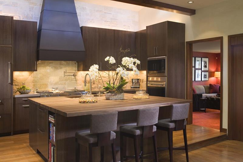 120 Custom Luxury Modern Kitchen Designs-23