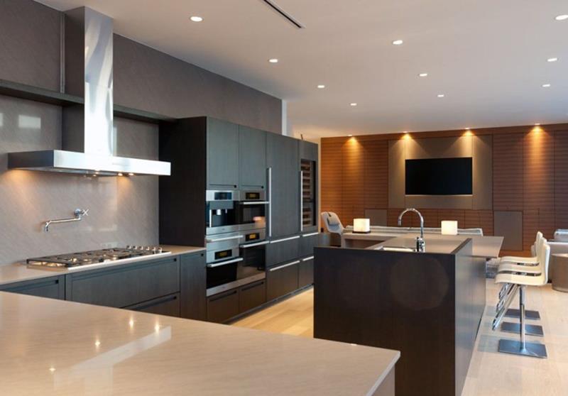 120 Custom Luxury Modern Kitchen Designs-24