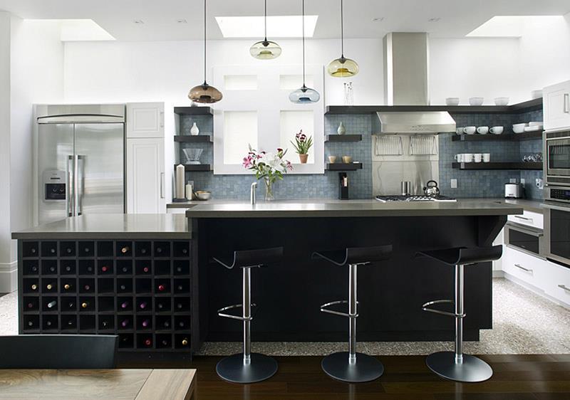 120 Custom Luxury Modern Kitchen Designs-29