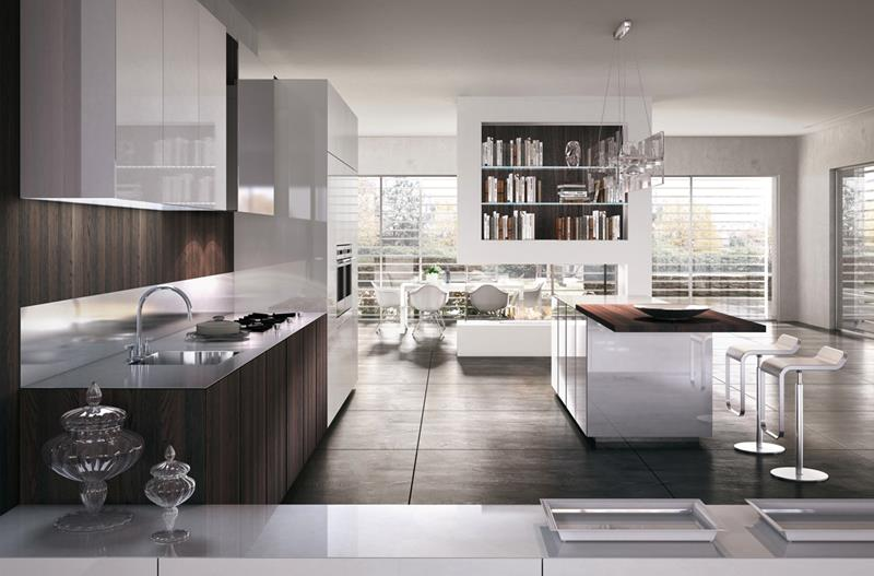 120 Custom Luxury Modern Kitchen Designs-34