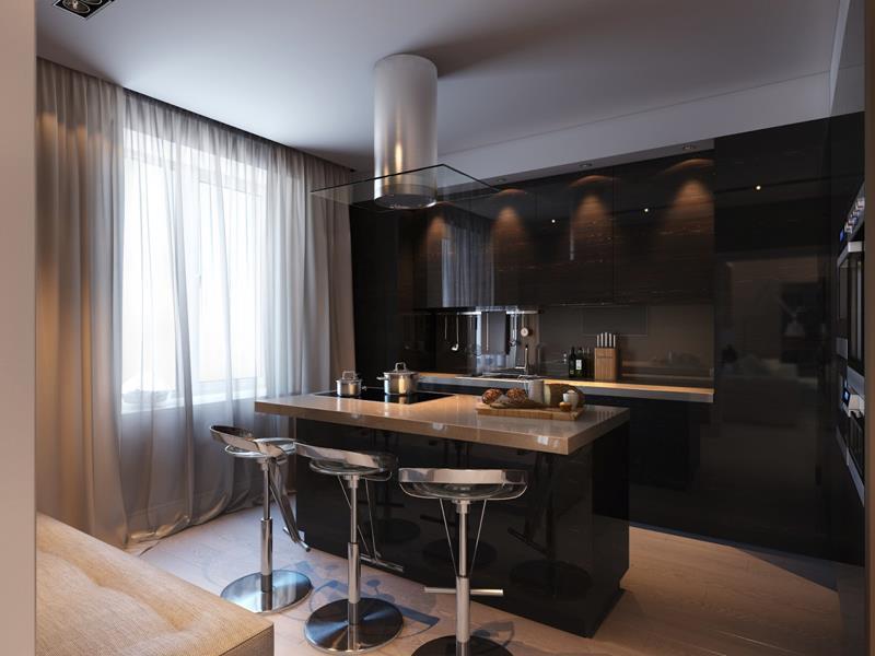 120 Custom Luxury Modern Kitchen Designs-41