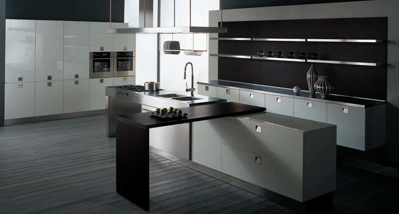 120 Custom Luxury Modern Kitchen Designs-43