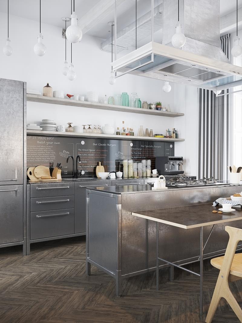 120 Custom Luxury Modern Kitchen Designs-47