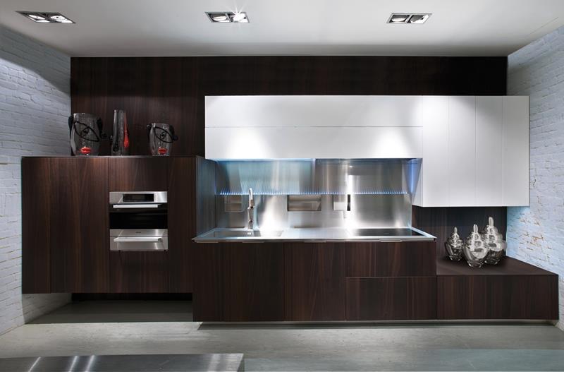 120 Custom Luxury Modern Kitchen Designs-49