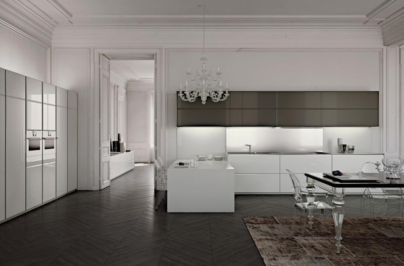120 Custom Luxury Modern Kitchen Designs-57