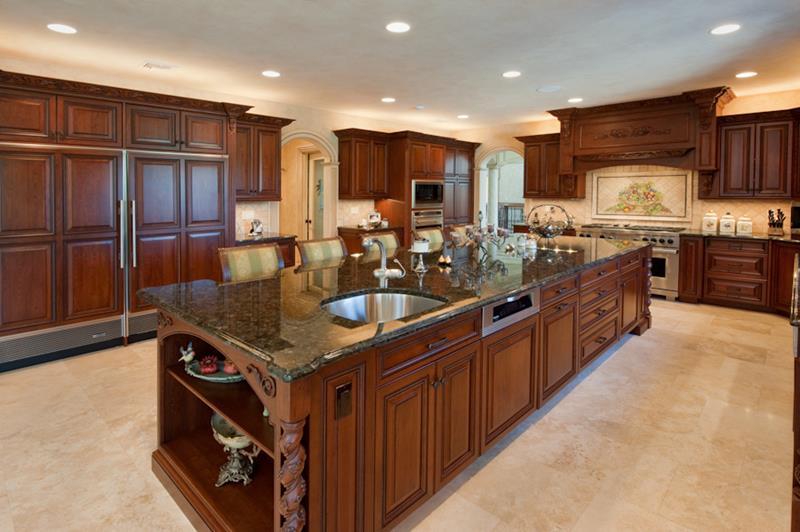 120 Custom Luxury Modern Kitchen Designs-6