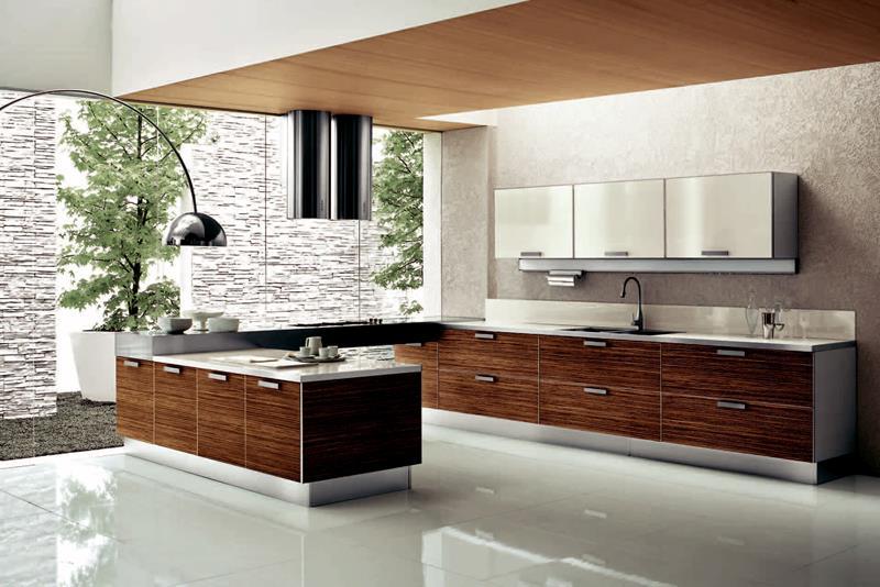 120 Custom Luxury Modern Kitchen Designs-62