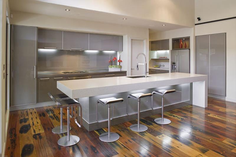 120 Custom Luxury Modern Kitchen Designs-63