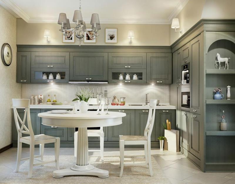 120 Custom Luxury Modern Kitchen Designs-64
