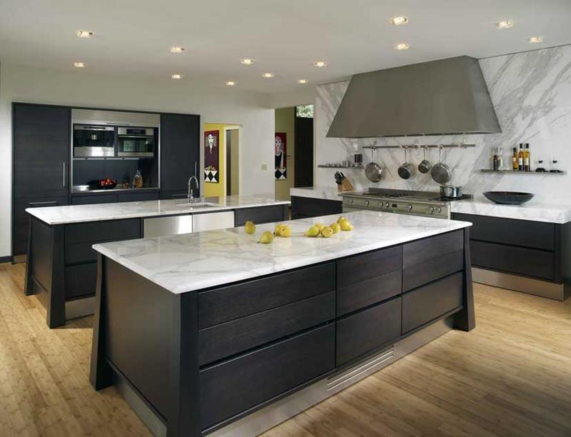 120 Custom Luxury Modern Kitchen Designs-70