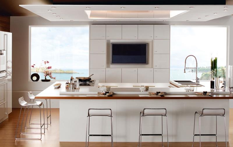 120 Custom Luxury Modern Kitchen Designs-73