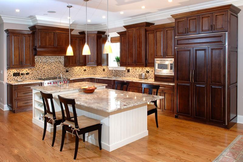 120 Custom Luxury Modern Kitchen Designs-85