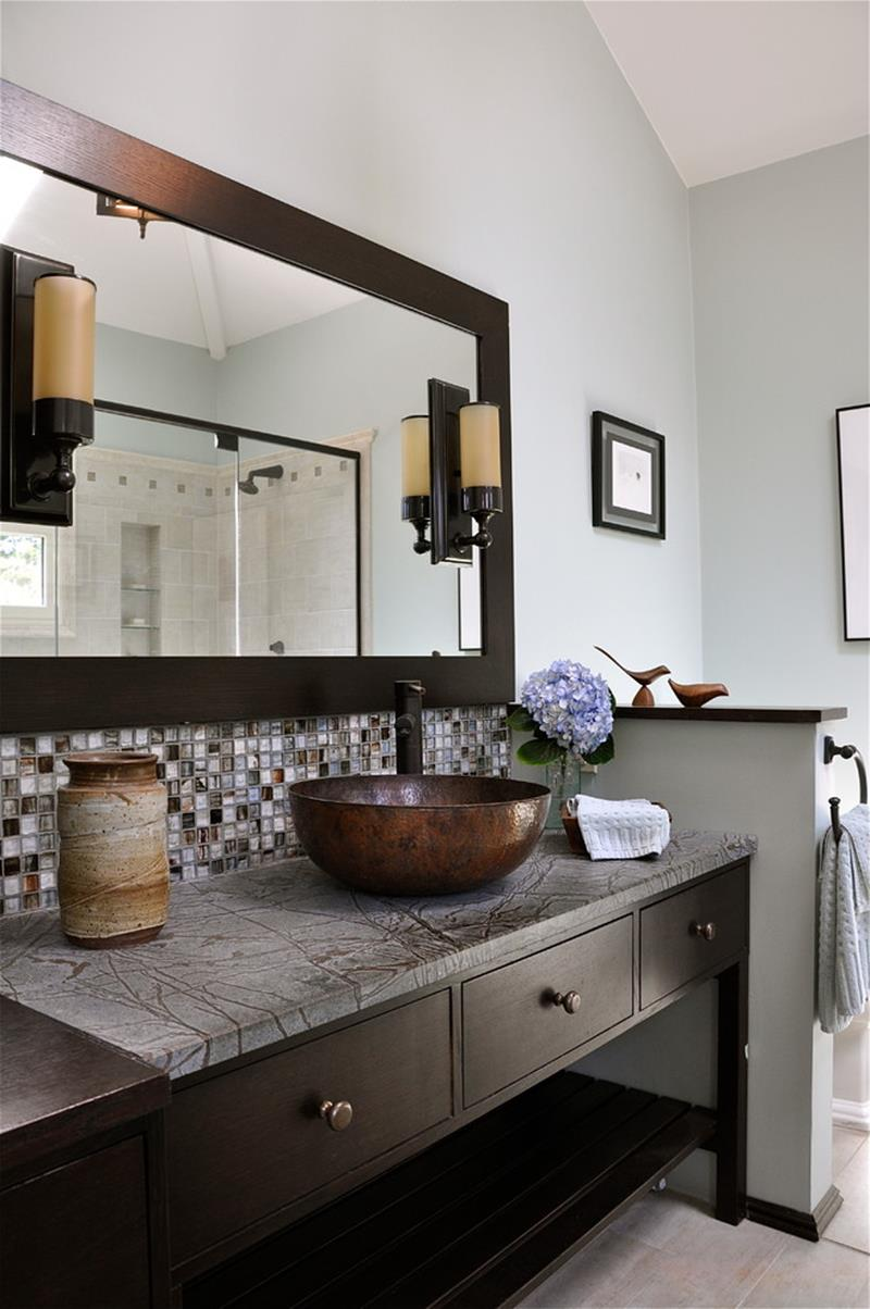 Bathroom Backsplash Vanity