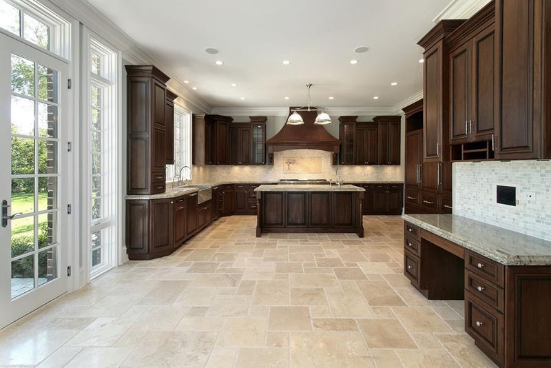 20 Beautiful Kitchens with Dark Kitchen Cabinets Design-20