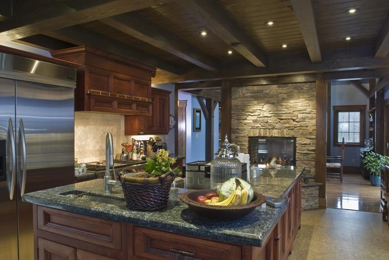 20 Beautiful Kitchens with Dark Kitchen Cabinets Design-title