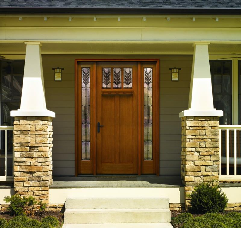 21 Cool Front Door Designs For Houses-10