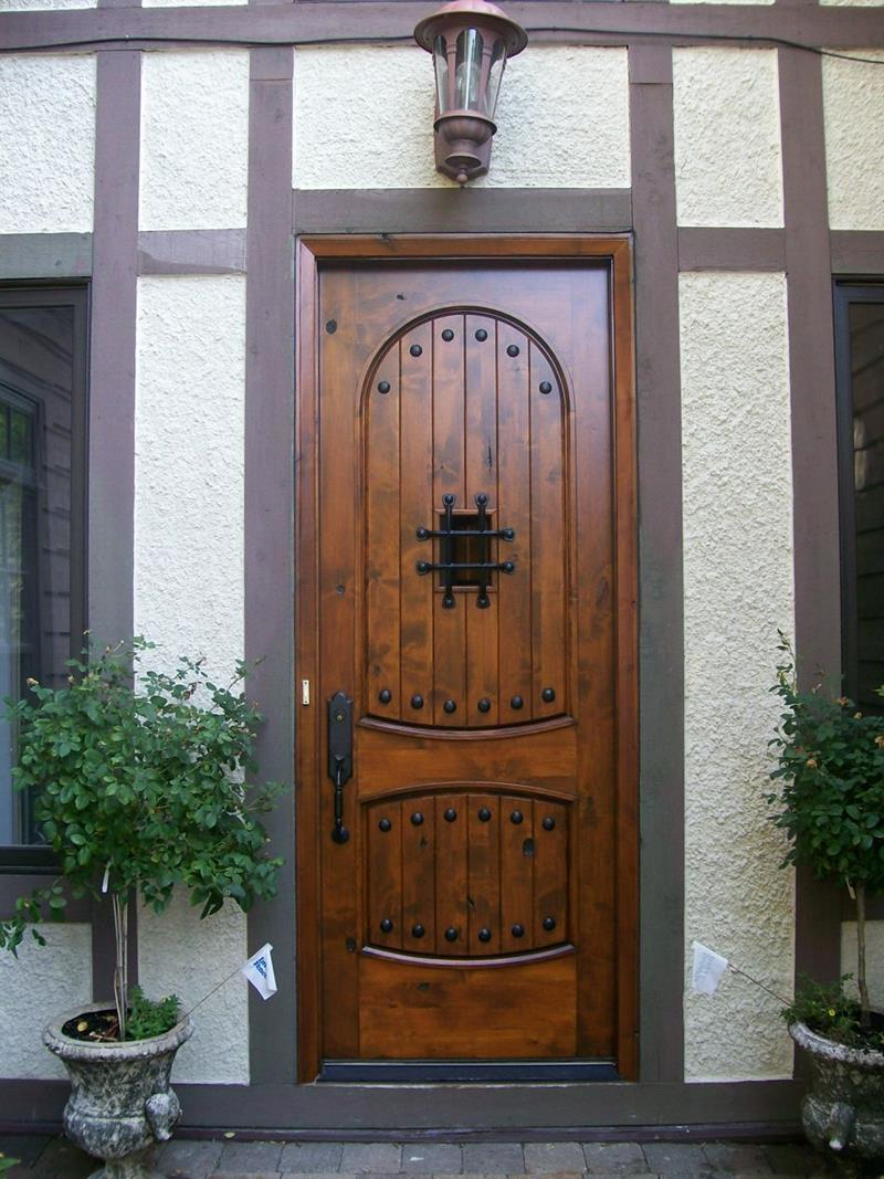 21 Cool Front Door Designs For Houses-15