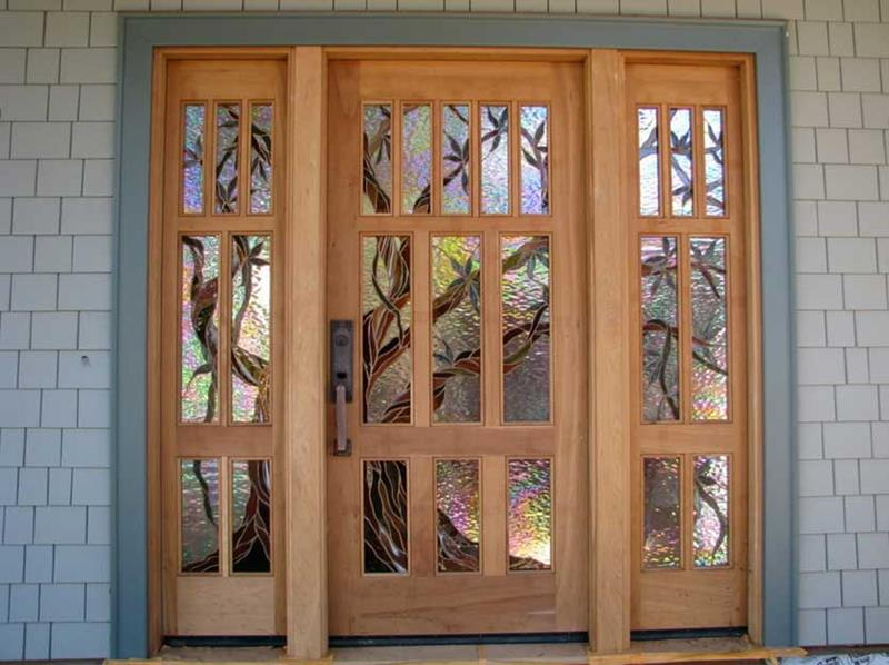 21 Cool Front Door Designs For Houses-19