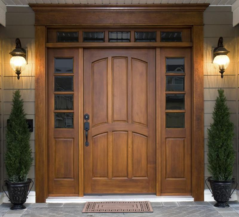 21 Cool Front Door Designs For Houses-2