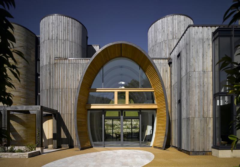 21 Cool Front Door Designs For Houses-20