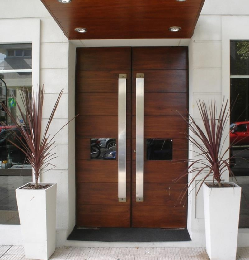 21 Cool Front Door Designs For Houses-3