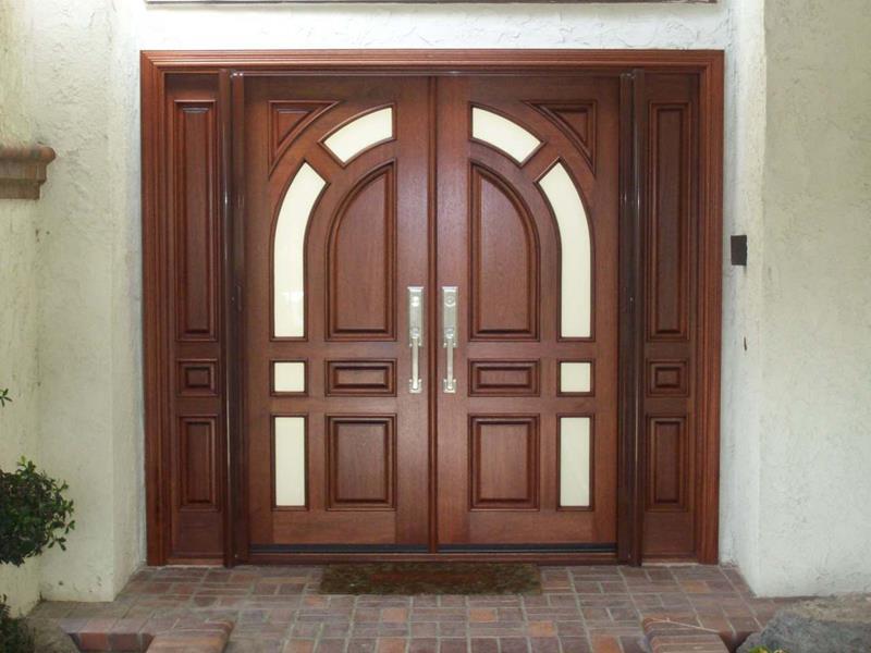 21 Cool Front Door Designs For Houses-4