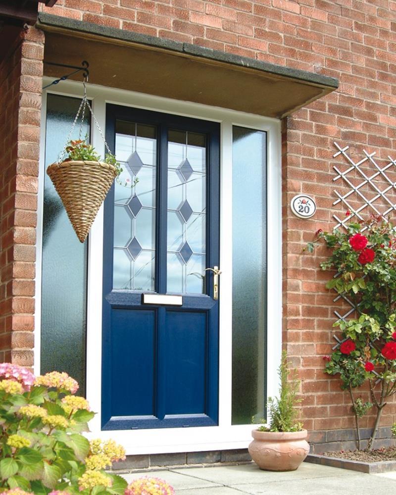21 Cool Front Door Designs For Houses-8