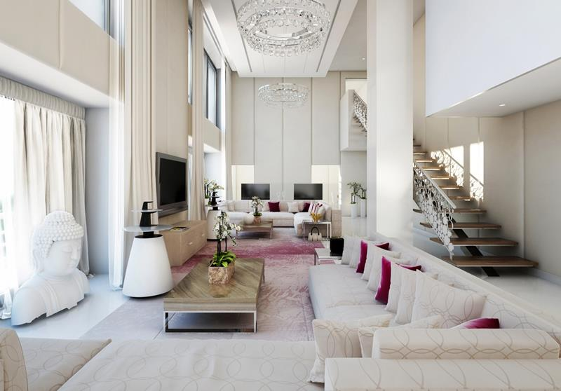 22 Elegant Living Rooms That Are Beautifully Decorated-4
