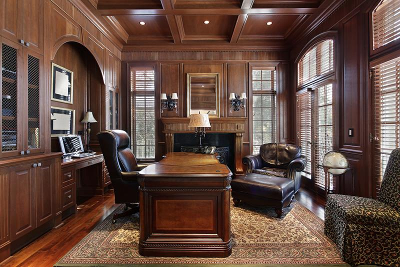 24 Luxury and Modern Home Office Designs-1