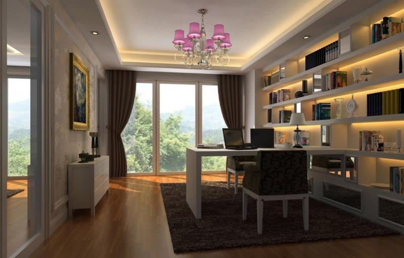24 Luxury and Modern Home Office Designs-12
