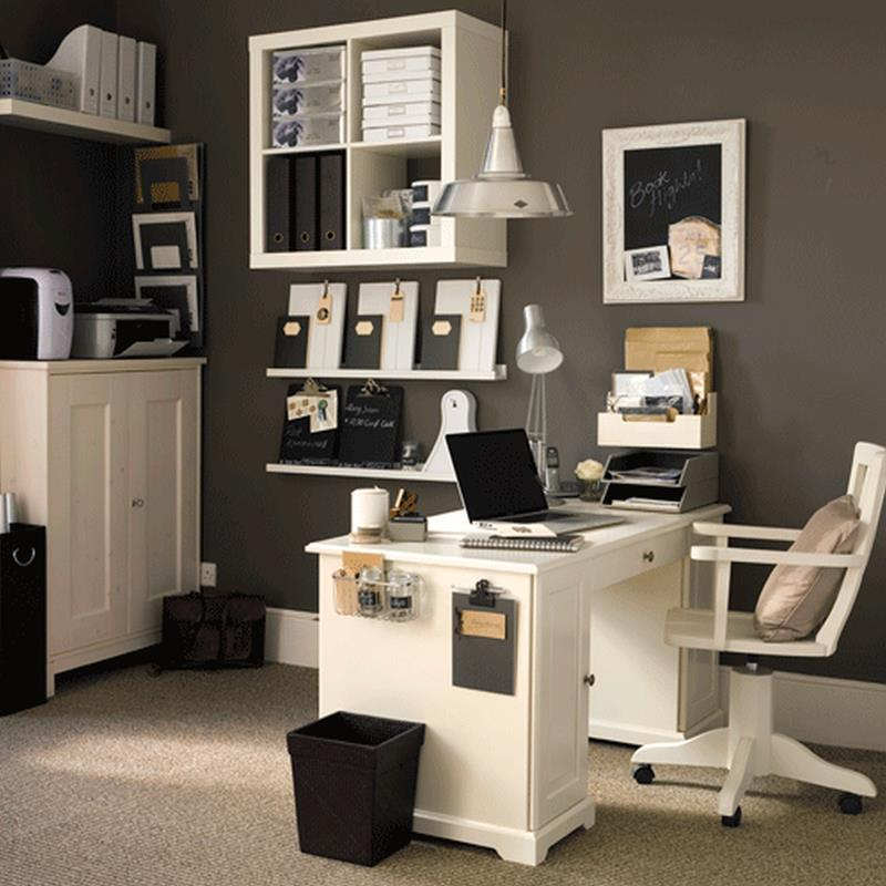 24 Luxury and Modern Home Office Designs-13