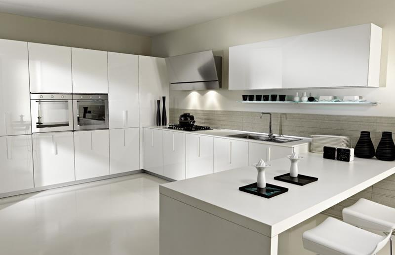 40 Pristine And White Home Kitchens-10