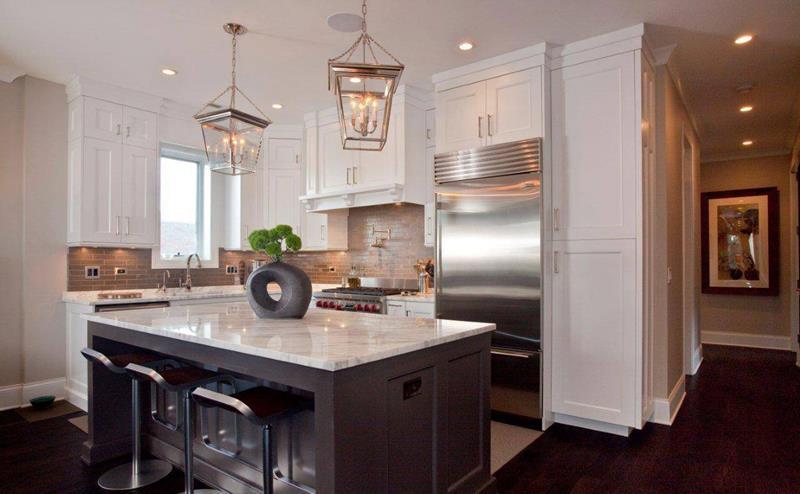 40 Pristine And White Home Kitchens-11