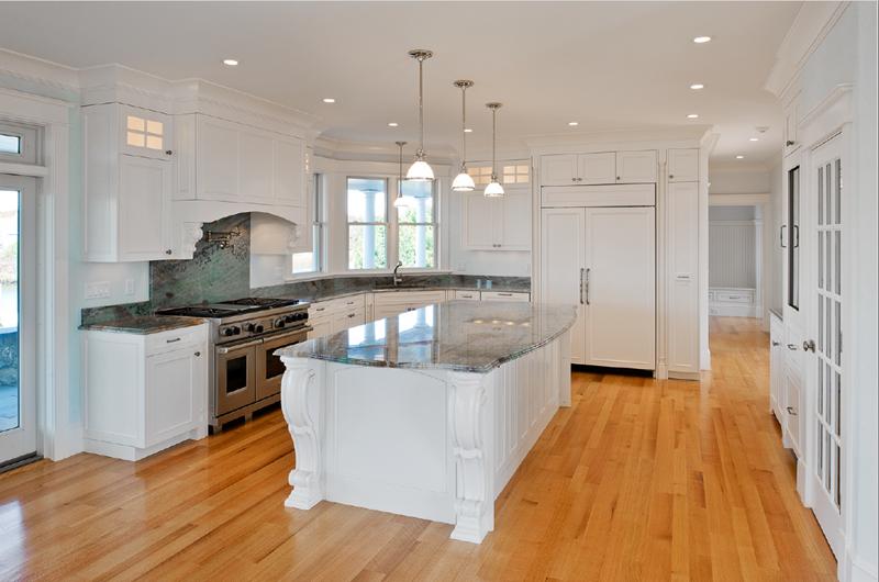 40 Pristine And White Home Kitchens-13