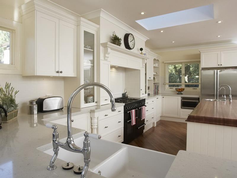 Luxury White Kitchen Cabinets White and Grey Kitchen