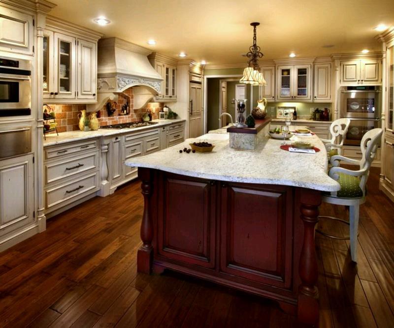 40 Pristine And White Home Kitchens-17