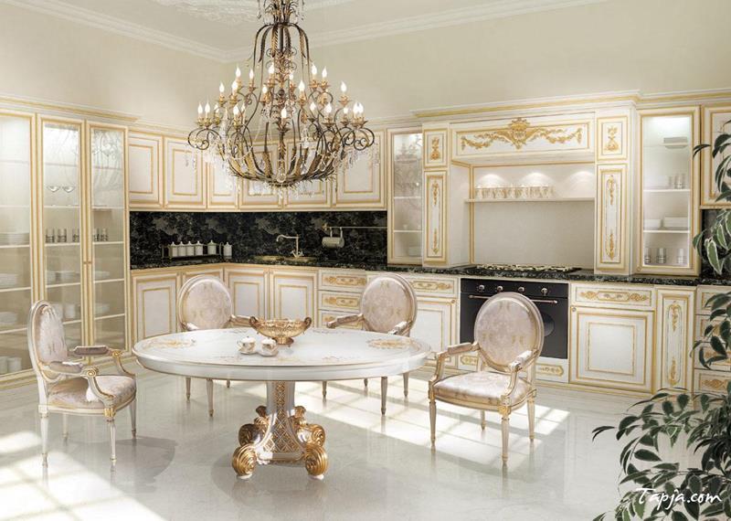 40 Pristine And White Home Kitchens-18