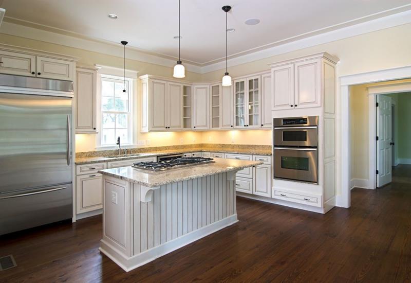 40 Pristine And White Home Kitchens-22