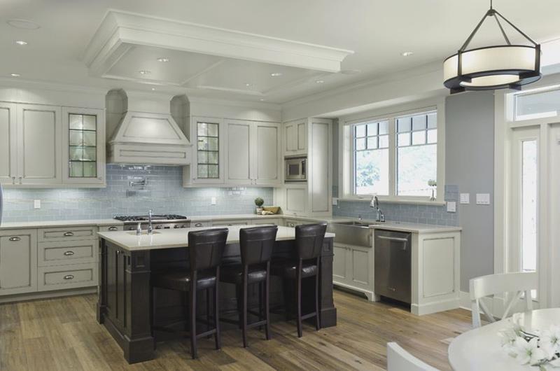 40 Pristine And White Home Kitchens-23