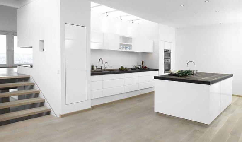 40 Pristine And White Home Kitchens-25